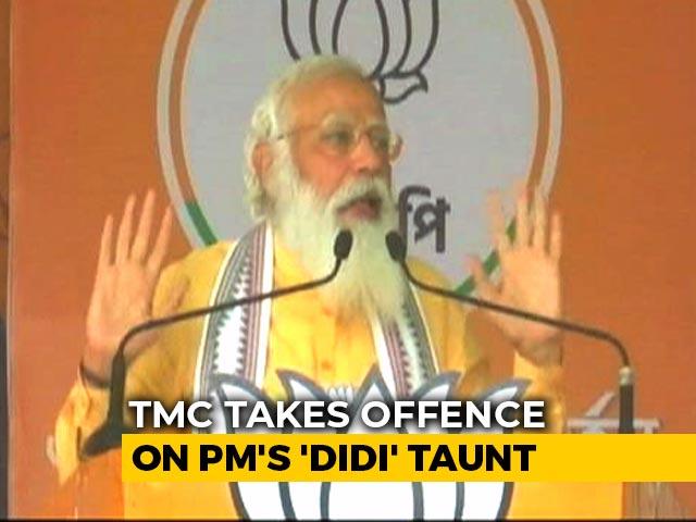 """Video : PM Modi's """"Didi-O-Didi"""" Remarks At Rallies Irks Trinamool Congress"""