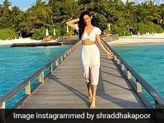 Shraddha Kapoor Enjoys Another Day In Paradise In Her All-White Beach Outfit
