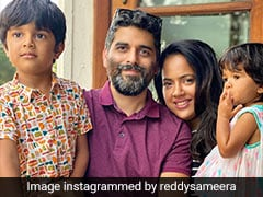 """Actor Sameera Reddy Tests Positive After Her Kids Contracted COVID-19: """"This Is The Time To Be Strong"""""""