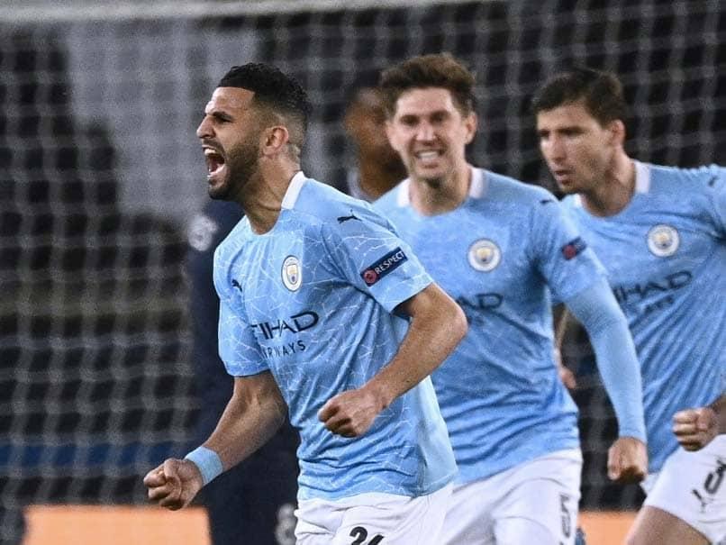 Riyad Mahrez Grabs Winner As Manchester City Beat PSG In Champions League Semi-Final First Leg