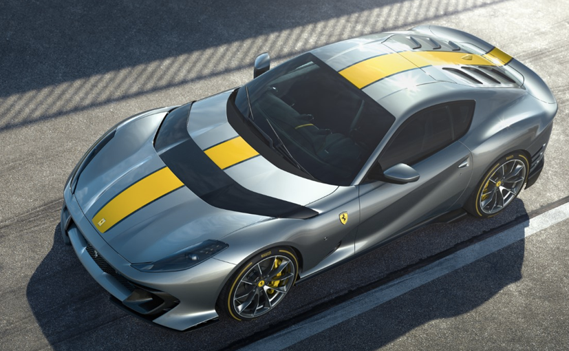 Ferrari Reveals Limited Edition V12 Based On The 812 Superfast
