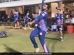 IPL 2021: Rajasthan Royals Spinner Shreyas Gopal Imitates Jasprit Bumrah's Bowling Action Better Than Fast Bowler Himself. Watch