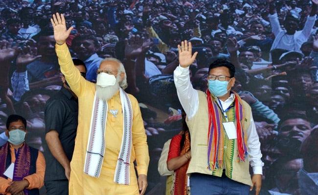 PM Modi Urges Militants To Surrender, Work Towards ''Atmanirbhar Assam''