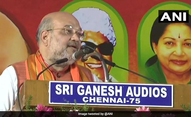 'Surprised Stalin Is Speaking Against Corruption': Amit Shah In Tamil Nadu