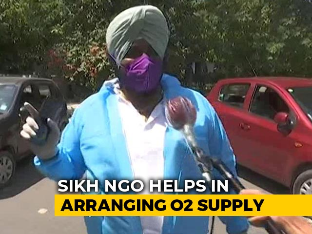 Video : This Non-Profit Sikh NGO Is Helping With Oxygen Supply For Covid Patients