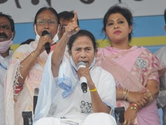 """You Brought Covid And Ran Away"":  Mamata Banerjee Slams BJP At Rally"