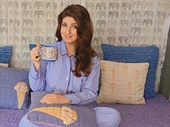 """Damn The Stomach Rolls,"" Twinkle Khanna Just Wants Some ""Unforgiving"" Bodycon Dresses And Crop Tops"
