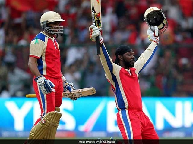 On This Day: Chris Gayle Registered The Quickest IPL Hundred
