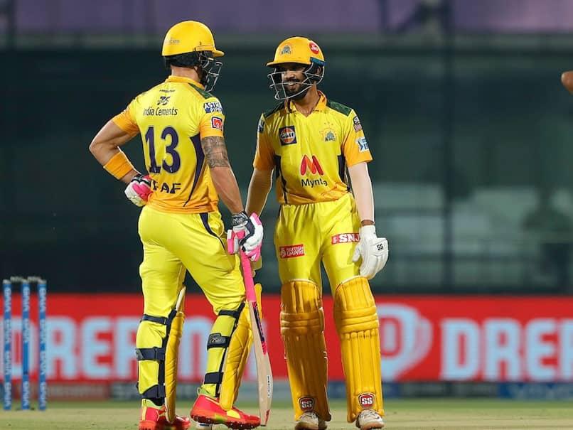 Fifties From Faf du Plessis, Ruturaj Gaikwad Help Chennai Super Kings Beat SunRisers Hyderabad By 7 Wickets