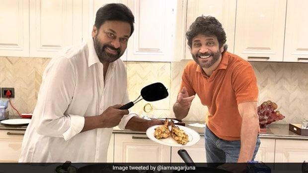 When South Superstars Chiranjeevi And Nagarjuna Bonded Over Dinner