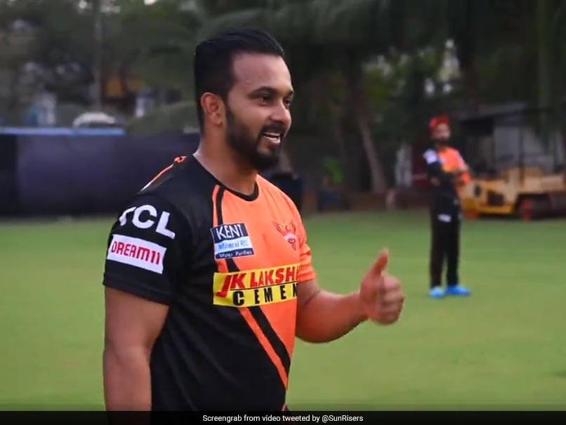 """Watch: New SunRisers Hyderabad Recruits Have """"Wonderful Hit"""" In First Training Session"""