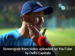 Watch: Delhi Capitals Head Coach Ricky Ponting Reveals One Ritual He Follows Before Every Game