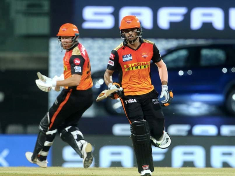 Manish Pandey, Jonny Bairstow  Steadied SunRisers Hyderabad After Early Blows