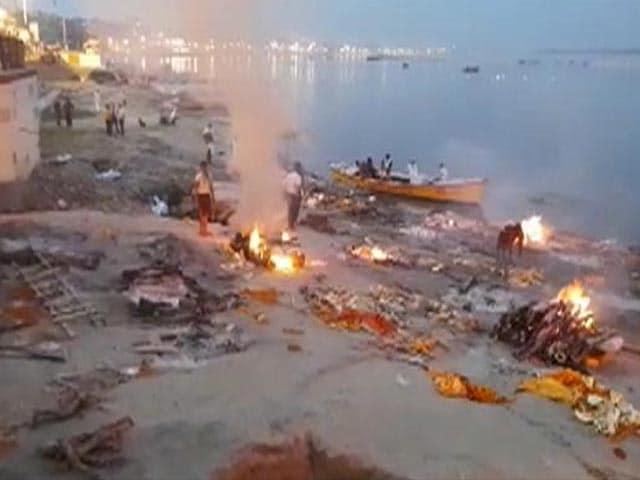 Video : Crematoriums Work Under Intense Pressure In Varanasi