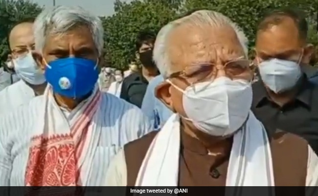 Haryana Officers Dismantle Manohar Lal Khattar's 'Temple' Built By Locals