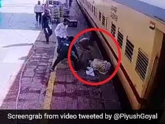 Hero Cop Saves Man From Falling Under Train, Railway Minister Shares Video
