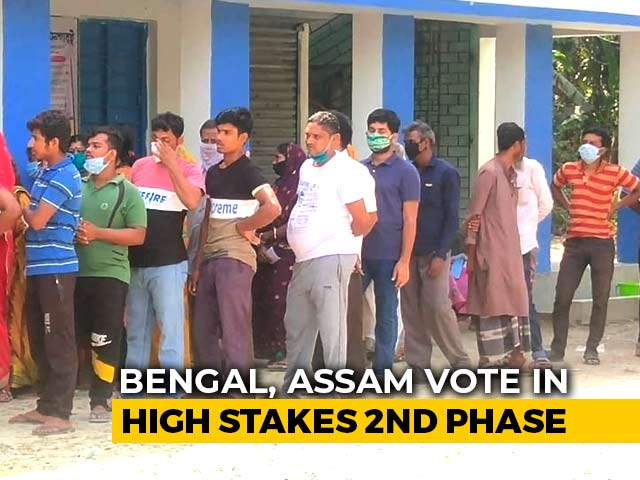 Video : 37.4 Per Cent Voter Turnout In West Bengal, 27.55 Per Cent In Assam Till 11 AM