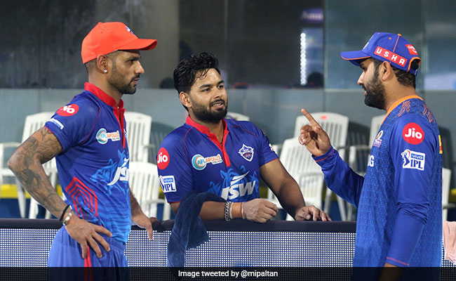 Caption This Pic Of Rohit Sharma With Orange Cap Holder Shikhar Dhawan