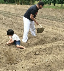 On Earth Day, Kareena Kapoor Posts Pic Of Her 'Favourite Boys' Farming