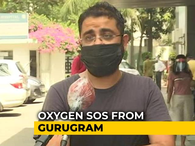 Video : Gurgaon Hospitals Run Low On Oxygen, Crematoriums Run Out Of Space