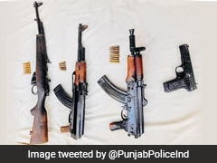 Punjab Cops, Border Force Seize Arms, Ammunition Near Attari Border With Pakistan