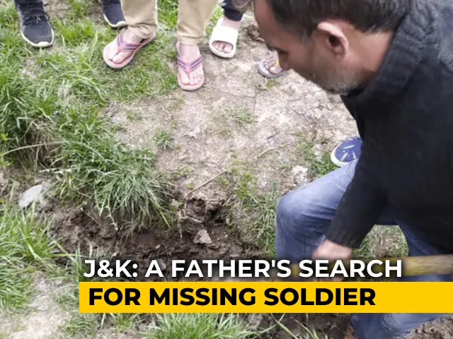 Video : Digging Daily For 8 Months - A Father's Search For Missing Soldier In J&K