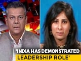 Video : India Has Returned To Positive Year-On-Year Growth: Gita Gopinath