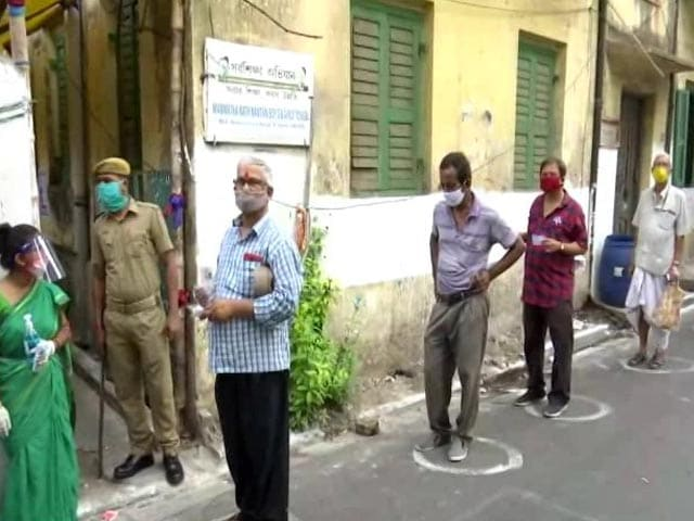 Video : Amid Surge In Cases, Polling In Bengal