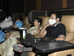 <i>Vakeel Saab</i>: Chiranjeevi And Family Watch Pawan Kalyan's Film