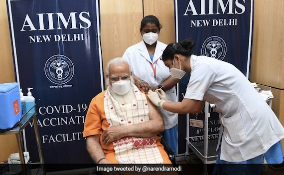 'If Eligible, Get Your Shot Soon': PM Gets Covid Vaccine's Second Dose