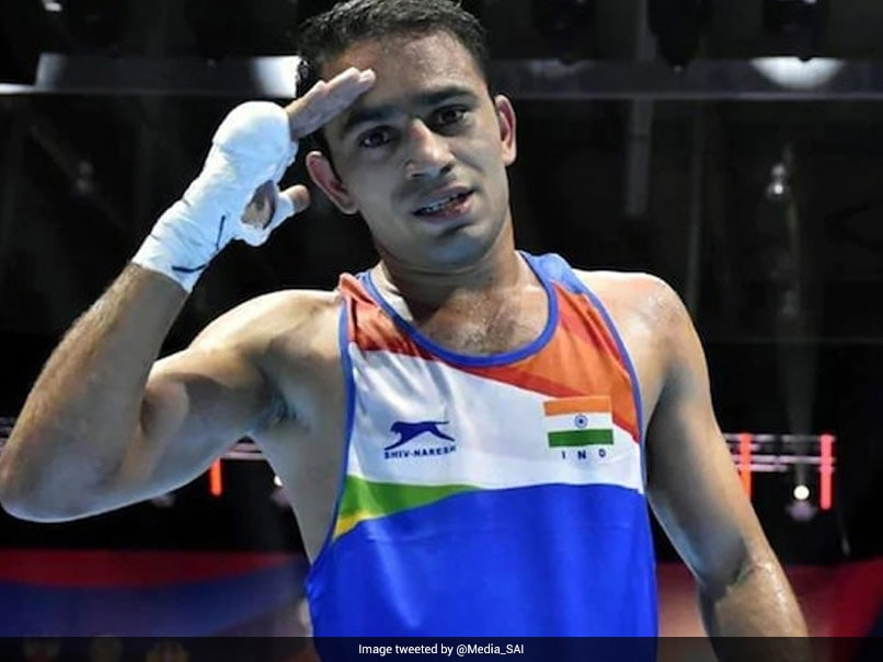 Amit Panghal Reaches Semis Of Governor's Cup In Russia | Boxing News
