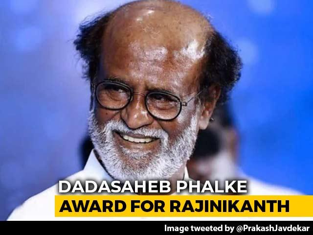 Video : Rajinikanth Will Receive The Dadasaheb Phalke Award For 2019