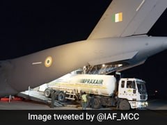 Indian Air Force Airlifts 4 Empty Oxygen Tankers From Bangkok To Jamnagar