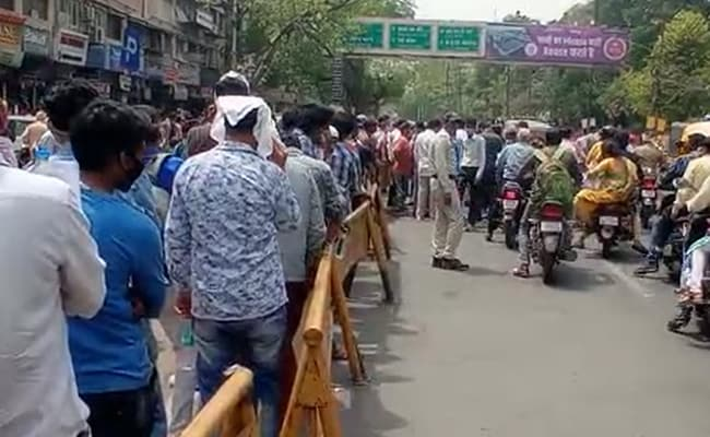 Indore Sees Queues For Hours As Anti-Viral Drug Runs Short In Supply