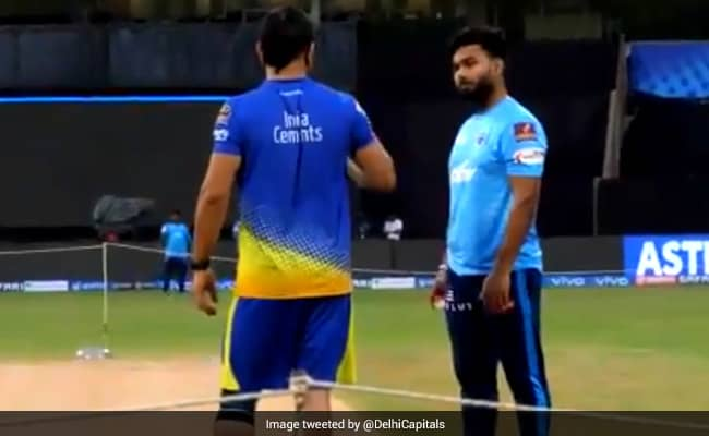 IPL 2021: DC shares video of Pant engaging in friendly chat with Dhoni, Raina, Pujara on eve of CSK game