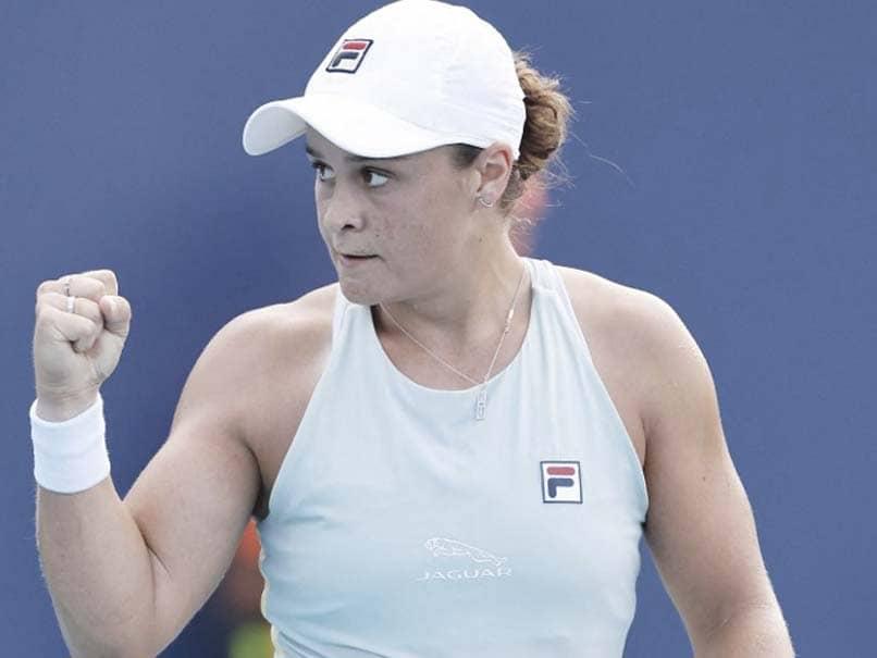 Ashleigh Barty Reaches Miami Open Final As Hurbert Hurkacz Topples Stefanos Tsitsipas
