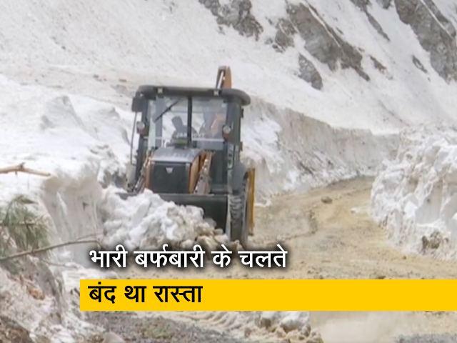 Videos : जम्मू कश्मीर: मुगल रोड से बर्फ हटाने का काम एक महीने में हुआ पूरा