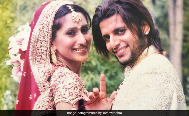 Karanvir Bohra Wishes Wife Teejay Sidhu On 14th Anniversary With Then And Now Pics