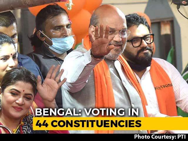Minister Babul Supriyo, Other Big-Hitters In Bengal Polls Round 4 Today