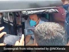 On Camera, Rahul Gandhi Rides Auto To Campaign Venue In Kerala