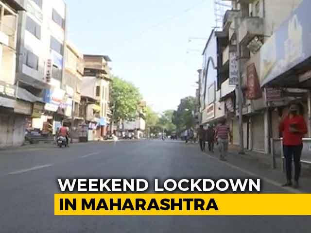 Video : Maharashtra Enters Weekend Lockdown Amid COVID-19 Surge
