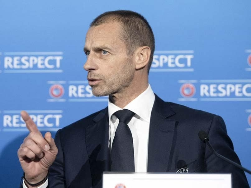 """UEFA President Hits Out At """"Greediness, Narcissism"""" Of Clubs Over Super League Plans"""