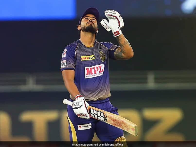 Kolkata Knight Riders Batsman Nitish Rana Starts Training After Recovering From COVID-19