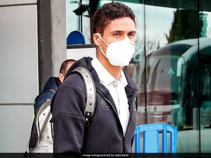 Real Madrid Defender Raphael Varane Tests Positive For COVID-19 Ahead Of Liverpool Clash
