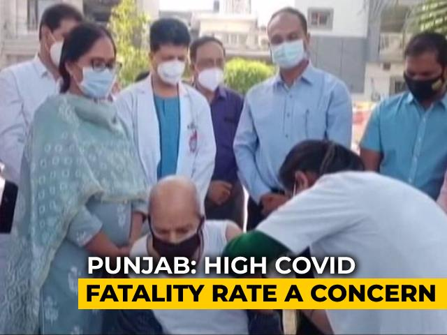 Video : Punjab: Around 70% Health Staff Vaccinated In 3 Months