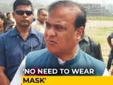 Video : BJP's Himanta Sarma, Attacked Over 'Mask' Comment, Replies To Rivals