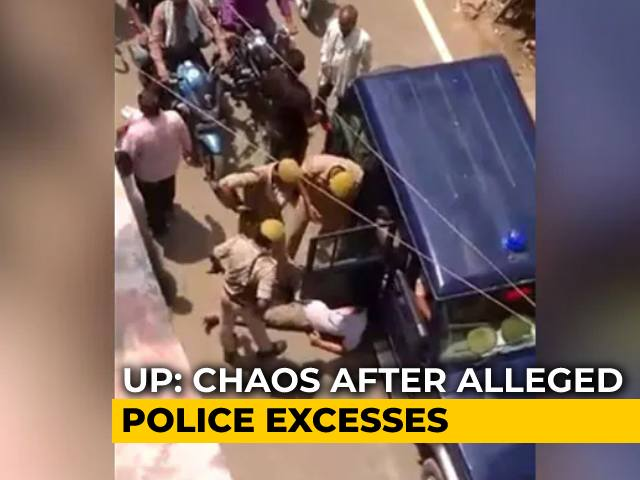 Video : Azamgarh Mask Push Triggers Traders' Fury Against Cops' High-Handedness