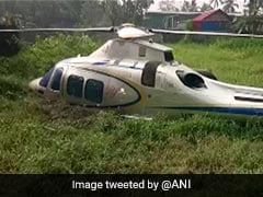 Chopper Carrying Businessman Makes Emergency Landing In Kerala