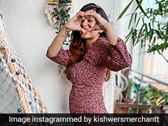 """Pregnant Kishwer Merchant Won't Be Watching The News Any Longer - """"For Sanity And My Baby"""""""