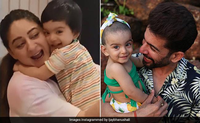 Mahhi Vij Gets Some 'Extra Love' From Daughter Tara. Jay Bhanushali Is 'Jealous'